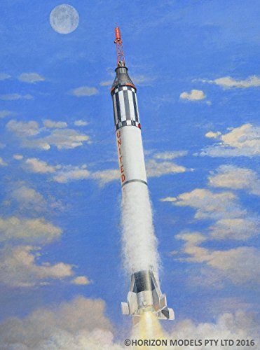 Plastic Nasa Model Kit (Horizon Models 1/72nd scale Mercury-Redstone Plastic Model Kit)