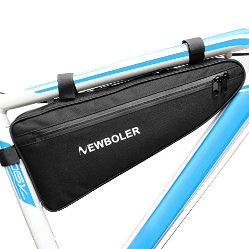 NEWBOLER Bicycle Frame Bag Cycling Triangle Bag Bike Front Saddle Frame Pouch Top Tube Pack