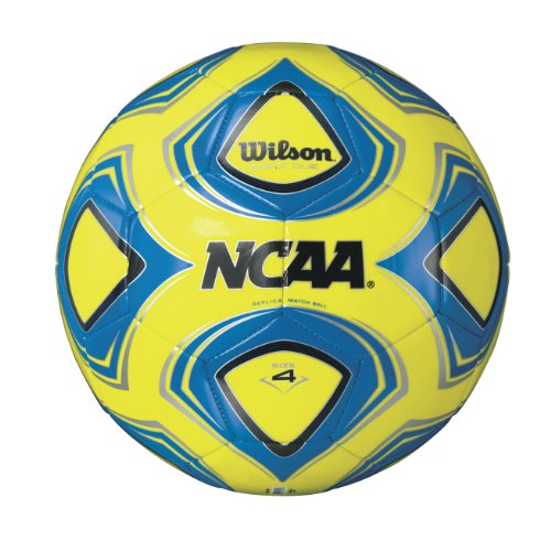 Wilson NCAA Copia Due Replica Soccer Ball, Green/Blue, 4 (Green Wilson)