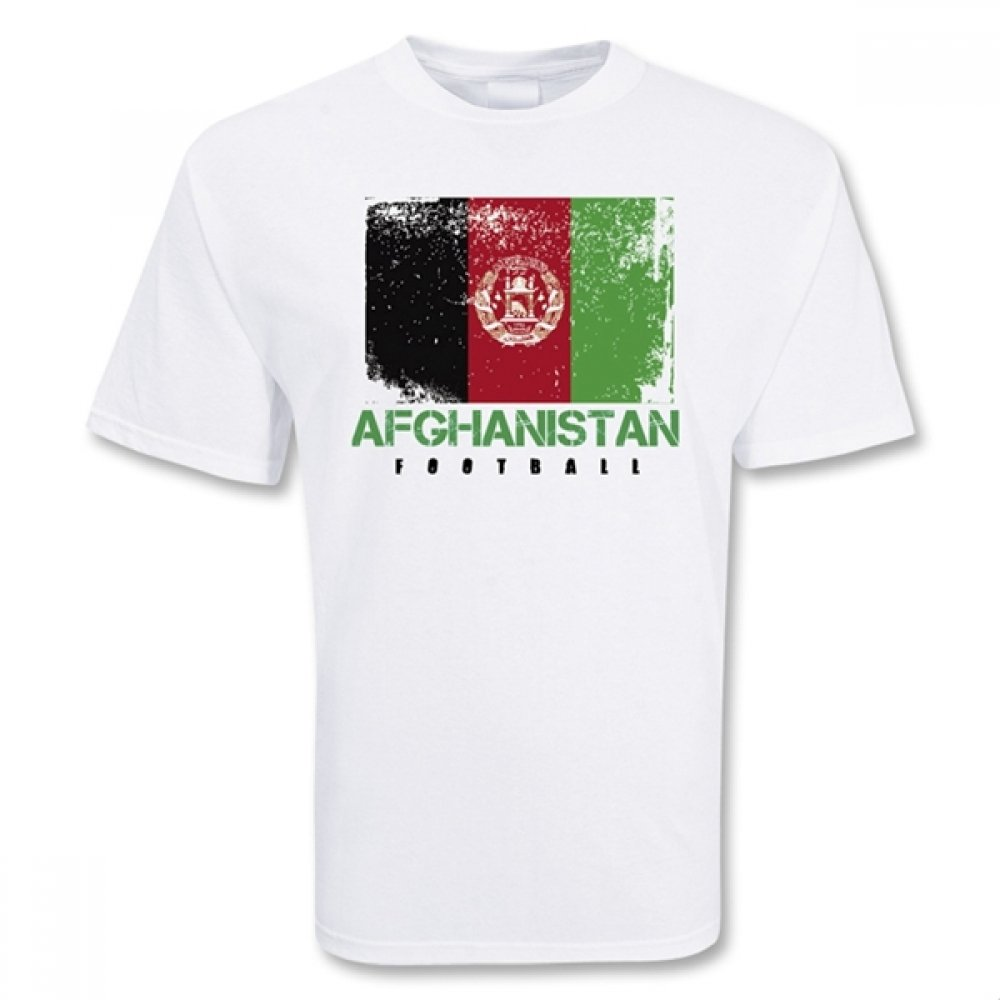 Afghanistan Football T-shirt B076D74GCV