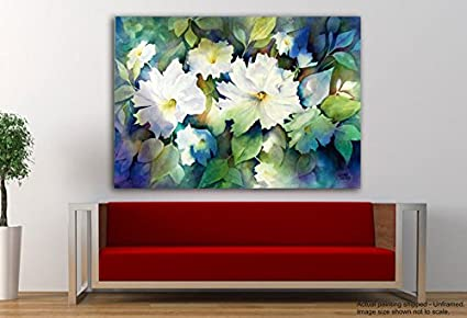 Tamatina Canvas Paintings   Pretty Flowers   Nature Canvas Art   Modern Art  Paintings   Paintings