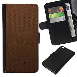 EJOY---La carpeta del tirón la caja de cuero de alta calidad de la PU Caso protector / HTC Desire 820 / --Simple patrón de 20