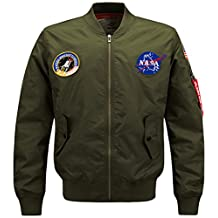 Nyngei Men's Gentlemen classic Retro coat Bomber Air Force Jackets