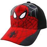 BAOZOON Spiderman Cartoon Children Snapback Cotton Baseball Cap Kids Boys Girls Hip Hop Hat Spiderman Cosplay Hat
