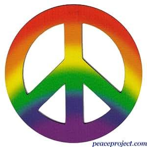 símbolo de la paz project rainbow colores símbolo de la paz