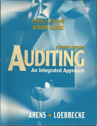 Auditing: An Integrated Approach (Study Guide)