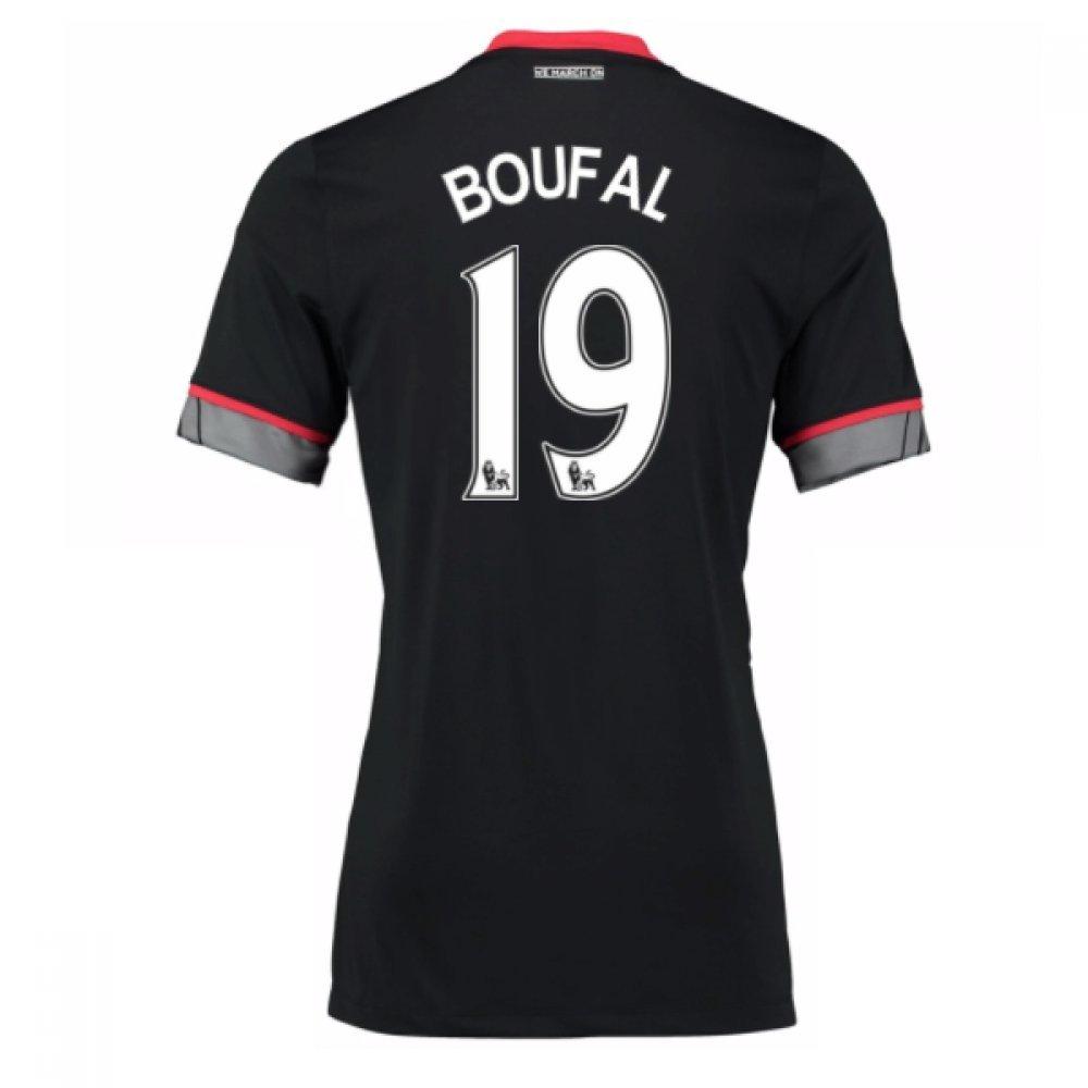 2016-17 Southampton Away Shirt (Boufal 19) B077Z1NZNXBlack XS 32-34\