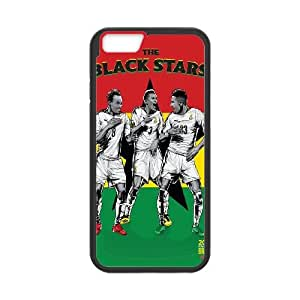iPhone 6 4.7 Inch Cell Phone Case Black WorldCup Ghana Ugvhl