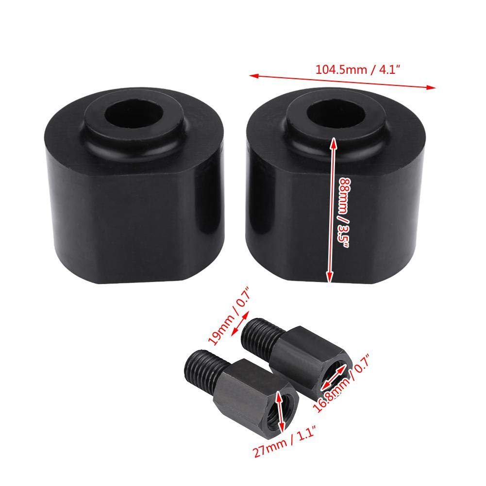 Fydun 3 Front Leveling Lift Kit for Ford F250 F350 Excursion 2WD Black 1999-2014 8.8 10.4cm//3.5 4.1in
