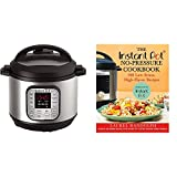 Instant Pot DUO80 8 Qt 7-in-1 Multi- Use Programmable Pressure Cooker with The Instant Pot No-Pressure Cookbook