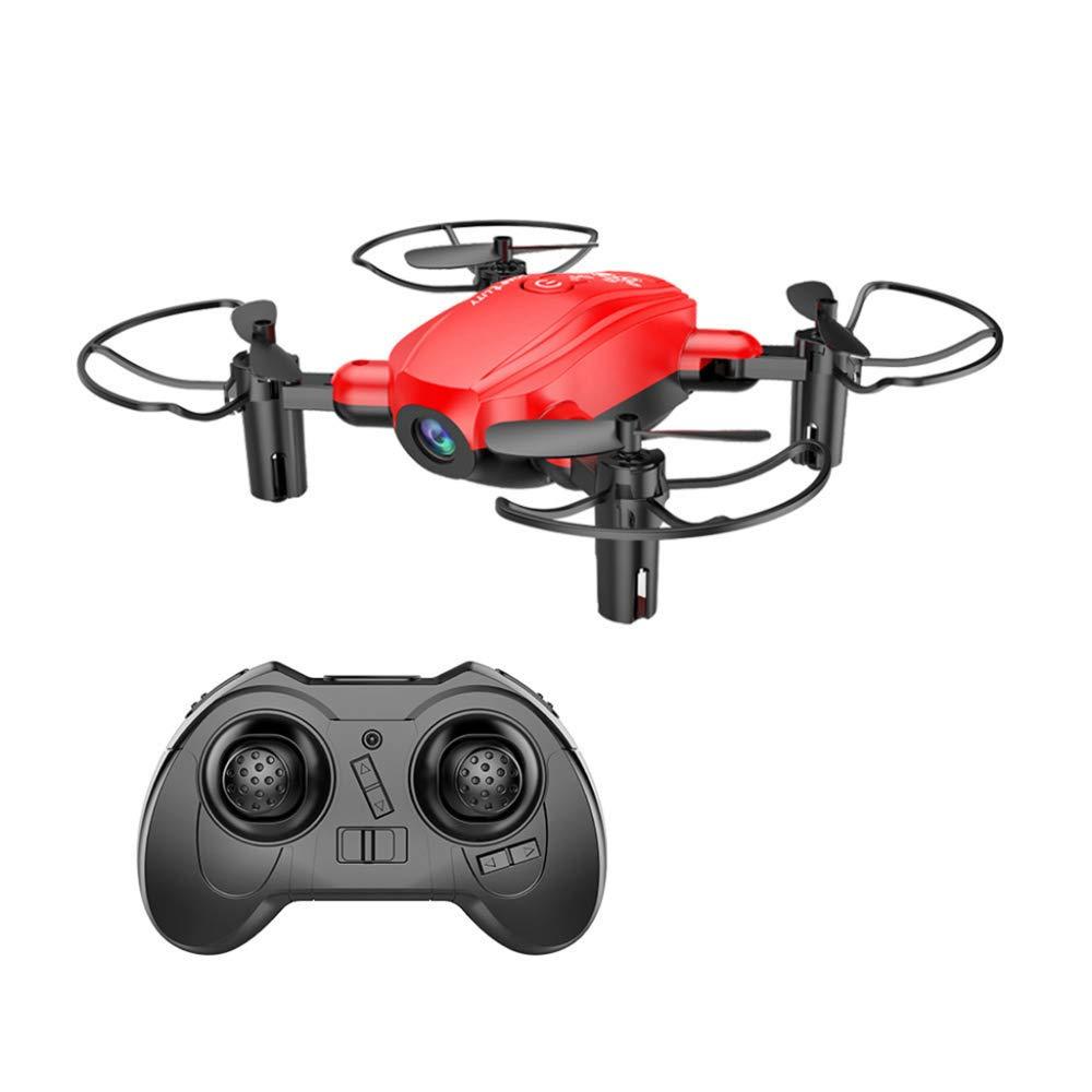 ERKEJI Drohne Mini-Drohne Schwerkraft Induktion Fernbedienung Faltbare Vier-Achs Flugzeug pneumatische Feste Höhe Spielzeug Flugzeug 1080p Real-Tim E Übertragung Luftbild WiFi FPV VR