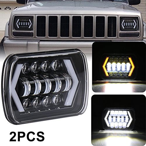 7x6 led halo headlights - 5