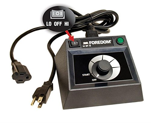 FOREDOM C.EMF-1 DUAL SPEED RANGE TABLE TOP CONTROL FOR SERIES SR FLEXSHAFT MOTOR (3.5 FR-PD)
