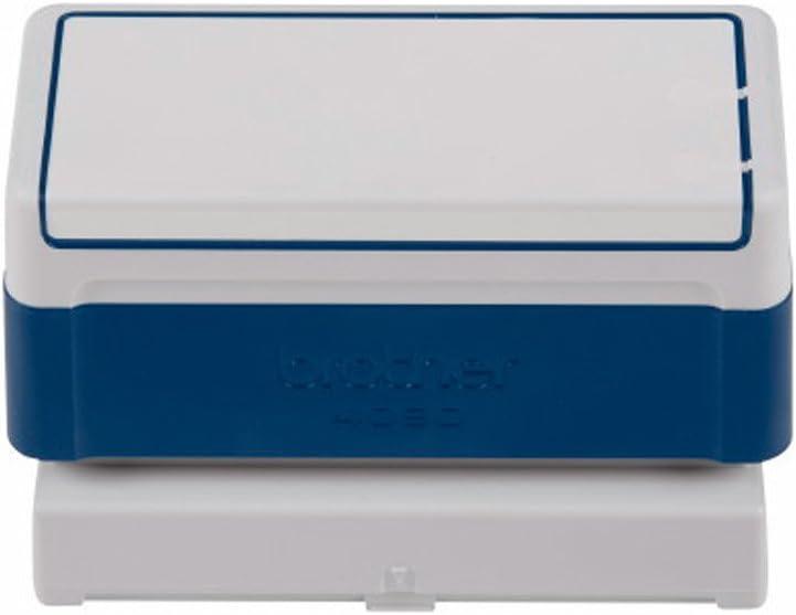 rosso o verde Blu Nero Timbro personalizzato 40 mm x 90 mm-1 Ud.