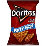 DORITOS TORTILLA CHIPS NACHO CHEESE PARTY SIZE 15 OZ BAG