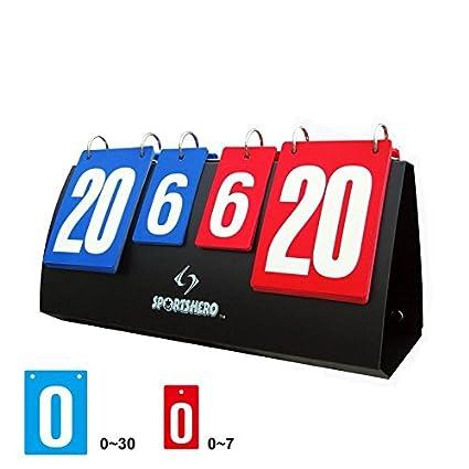 Patty Both Scoreboard Portable Multi Sports Volleyball Basketball Table Tennis Score