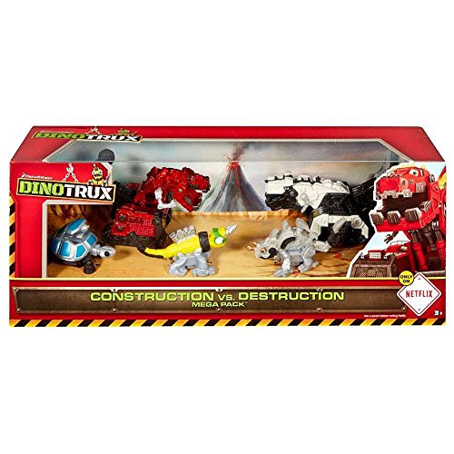 Dinotrux Construction vs. Destruction Mega Pack Diecast Figure 5-Pack