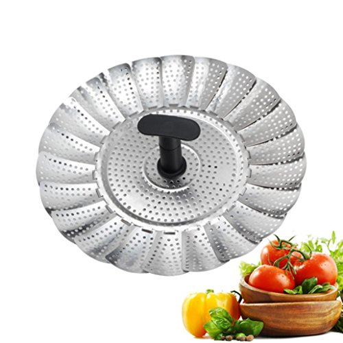 Price comparison product image Mchoice Good Grips Stainless Steel Steamer with Extendable Handle
