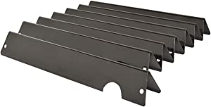 onlyfire Porcelain-Enameled Steel Flavorizer Bars Heat Plates Replacement for Weber Genesis II and Genesis II LX 400 Series Gas Grill, 7pcs