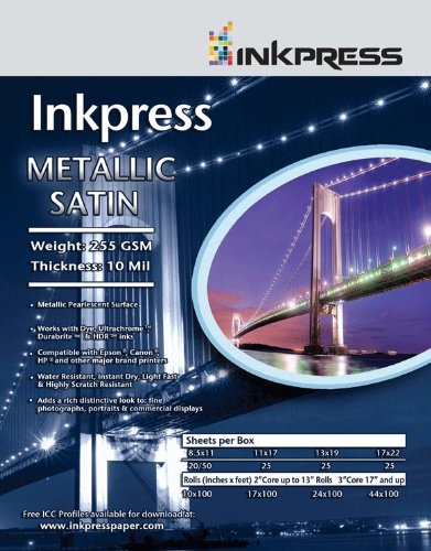 Supply Spot offers Inkpress Metallic Satin Inkjet Paper 44