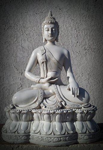 Bellaa 27017 Thai Buddha Statue Meditating Peace Harmony by Bellaa