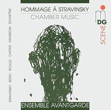 Risultati immagini per ensemble avantgarde hommage strawinsky