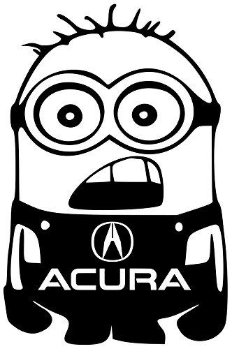acura-tl-integra-legend-minion-vinyl-white-sticker-5width-by-7-height