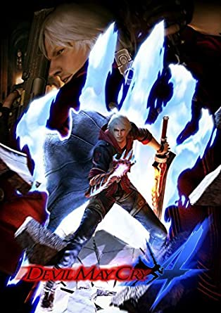 Devil May Cry 4 Poster by Devil May Cry 4: Amazon.es: Videojuegos