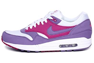 finest selection 63006 af323 NIKE WMNS AIR MAX 1 PURPLE EARTH TEA BERRY RAVE PINK WHITE 319986-502