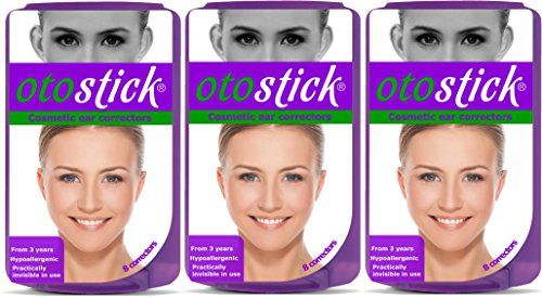 Otostick - TRIPLE PACK -(ENGLISH VERSION )- Instant Correction for Prominent Ears - Best Alternative Short of Surgery