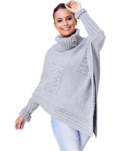 Fancy That Clothing - Jerséi - para mujer gris claro