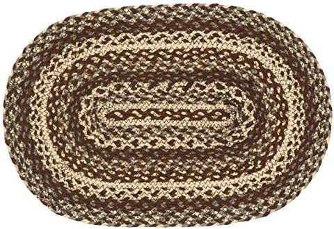 IHF Home Decor Jute Braided Rug Gristmill