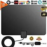 TV Antenna, [2019 Latest] Indoor Digital HDTV Amplified Antennas Freeview 4K 1080P HD