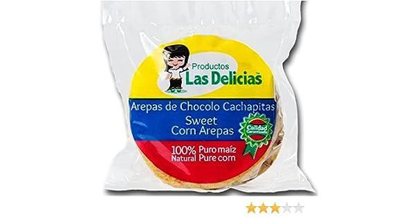 Arepas de Chocolo/ Cachapitas (4 PACKS) (20 UNITS) Sweet Corn Arepas: Amazon.com: Grocery & Gourmet Food