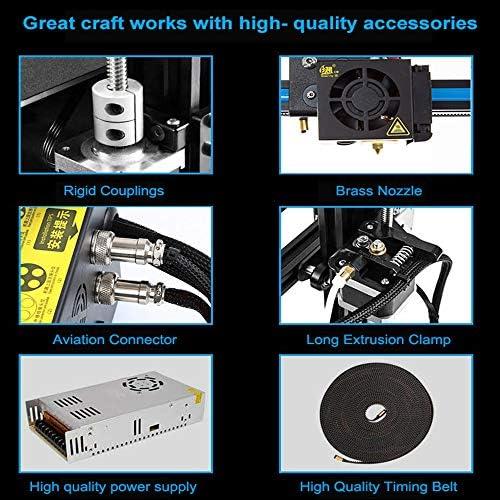 ZHAORLL Creality cr-10 s5 Impresora 3D de Alta precisión, 500 ...