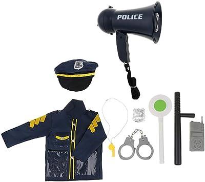 KESOTO 9 Piezas Kit de Ropa de Vestir Disfraces de Policía de ...