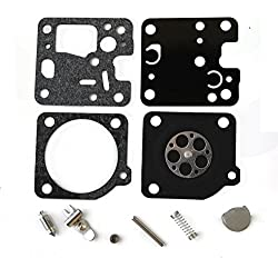 PODOY Carburetor Rebuild Kit For Zama RB-107 Echo SRM230 SRM231 210 210i 225 225i Trimmer