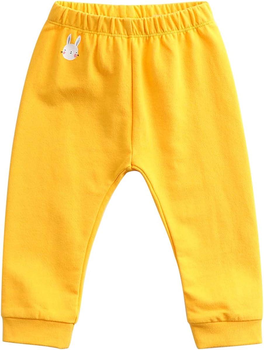 marc janie Little Girls Rabbit Pattern Sport Pants Baby Girls Trousers