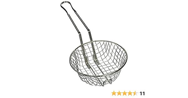 12-Inch Diameter Coarse Mesh Winco Culinary Basket