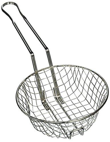 (Winco Culinary Basket, 8-Inch Diameter, Coarse Mesh)