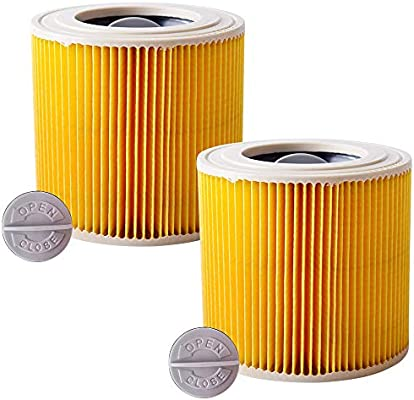 Kärcher - Juego de 2 cartuchos de filtro de repuesto compatibles ...
