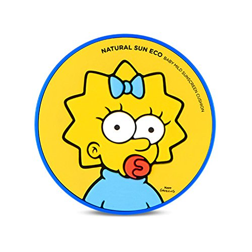 The-Face-Shop-Natural-Sun-Eco-Baby-Mild-Sunscreen-Cushion-Maggie-The-Simpsons-Collaboration