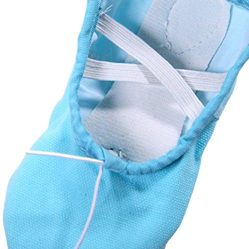 Zapatos a Ni De Para Azul Zapatillas Ballet Dogeek Transpirable Baile Danza 5wqSfTx1