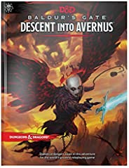 Dungeons & Dragons Baldur's Gate: Descent Into Avernus Hardcover Book (D&