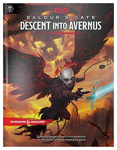 Book cover from Dungeons & Dragons Baldurs Gate: Descent Into Avernus Hardcover Book (D&D Adventure) by Wizards RPG Team