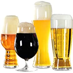 Spiegelau Beer Classics 8 Piece Non-Leaded Crystal Craft Beer Glass Tasting Kit