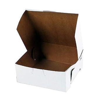 Amazon.com: APQ 250 Pack Cajas de pastel estándar blanco 5,5 ...