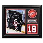 9d826831d Steve Yzerman Signed Jersey - Retired Number 23x19 Frame - Autographed NHL.