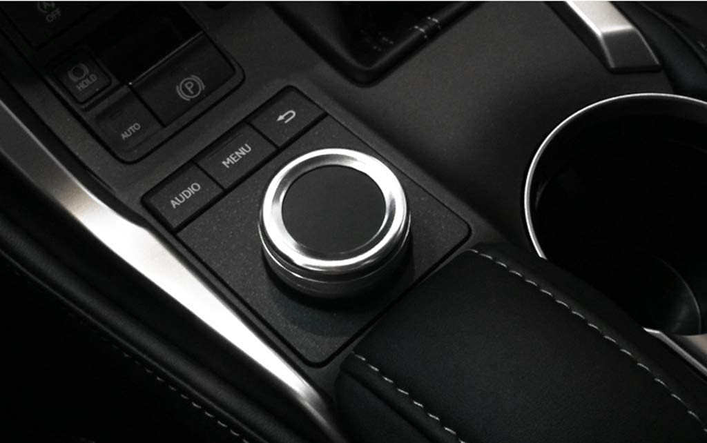 Blue CSS-Hamster New Protective Navigator Button Cover Compatible with Lexus RX 2016-2020 RX200t RX350 RX450h