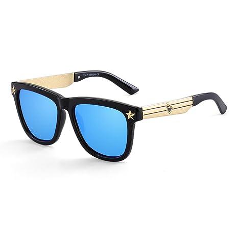 WYYY gafas de sol Gafas Sra. Hombres Cara Redonda Marco ...